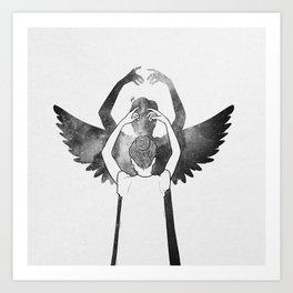 A dreamer. Art Print