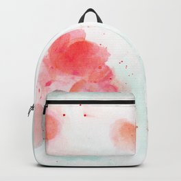Abstract water lillies Backpack