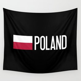 Poland: Polish Flag & Poland Wall Tapestry