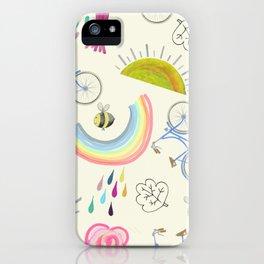 Earth Day Fun iPhone Case