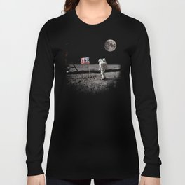 The Great Conspiracy: The Moon Is a Lie Long Sleeve T-shirt