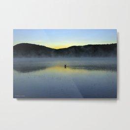 Perfect Landing (Sunrise, Lake George) Metal Print