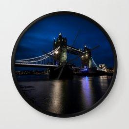 Tower bridge, London Town ,cityscape,skyline ,England ,Great Britain decor  Wall Clock