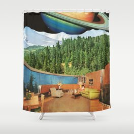 Round House Shower Curtain