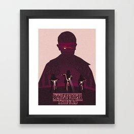 """Eleven?! Elle?"" Framed Art Print"