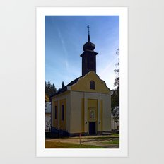 The pilgrim church of Maria Bruendl I | architectural photography Art Print