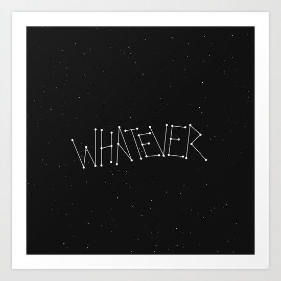 It was written in the stars... Art Print