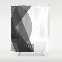 Edged Shower Curtain