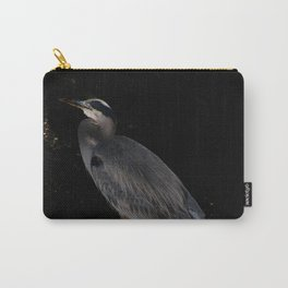 Heron at night Carry-All Pouch