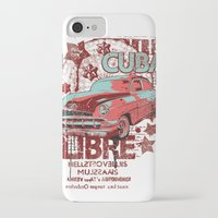cuba iPhone & iPod Cases featuring Cuba Libre by Tshirt-Factory