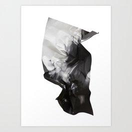 Wrinkled dreams Art Print