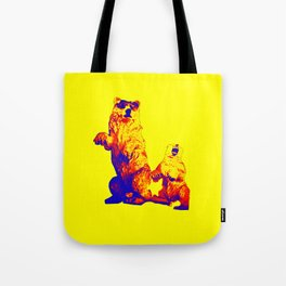 Ours Republique yellow Tote Bag