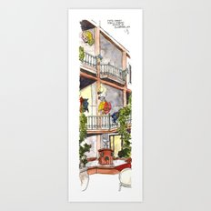 Fifth Street  Art Print