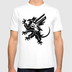 Tech Griffin SMALL Mens Fitted Tee White