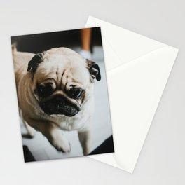 Needy Pug Stationery Cards