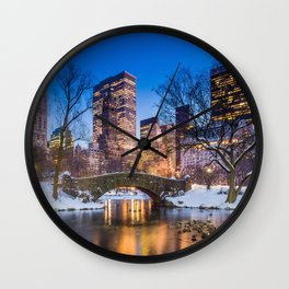 New York 05 - USA Wall Clock