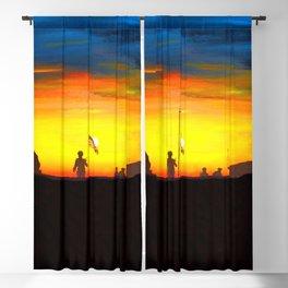 Fallen Not Forgotten Blackout Curtain