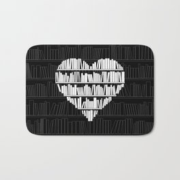 Book Lover Bath Mat
