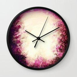 Midsummer Supermoon Wall Clock