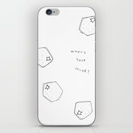 Tell Me - fruit illustration inspirational quote typography iPhone Skin