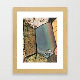 Hole In The Rainbow Framed Art Print