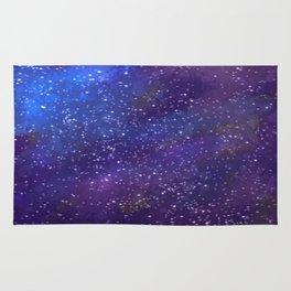 Starlit Space Rug