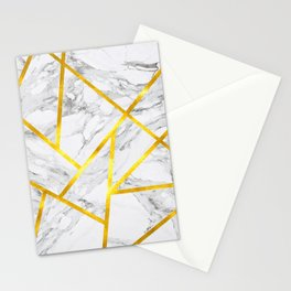 Abstract Marble-Zero Opacity Stationery Cards