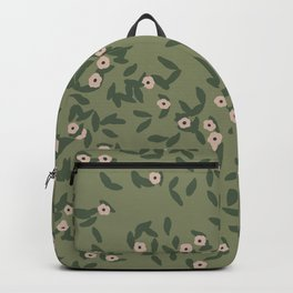 Beautiful Landscapes Scenery Flower Pattern Backpack