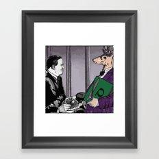 MAITRE DEER Framed Art Print