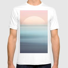 You Are Free Mens Fitted Tee White MEDIUM