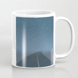 "Jack Kerouac ""On the Road"" - Minimalist literary art design, bookish gift Coffee Mug"