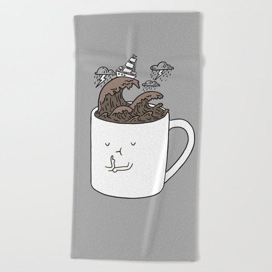 Brainstorming Coffee Mug Beach Towel