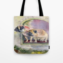 Where is the cat? Tote Bag