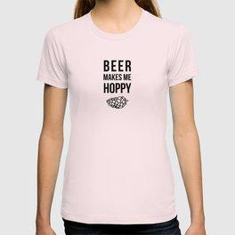 Beer Makes Me Hoppy T-shirt