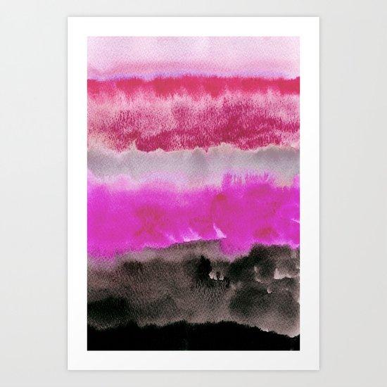 Layered Landscape Art Print