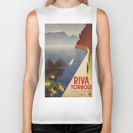 Vintage poster - Riva Torbole Biker Tank