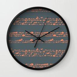 animals cookies Wall Clock