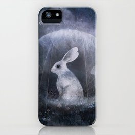 hare of the moon iPhone Case