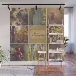 Autumn Beauty - Vignette Wall Mural