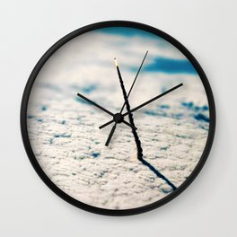 Large Endeavour's Final Voyage To Space Print Poster Art Wall Clock