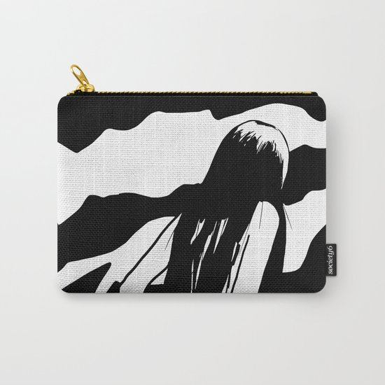 Nude ascending cliff Carry-All Pouch