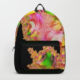 Feather Fractal Heart Backpack