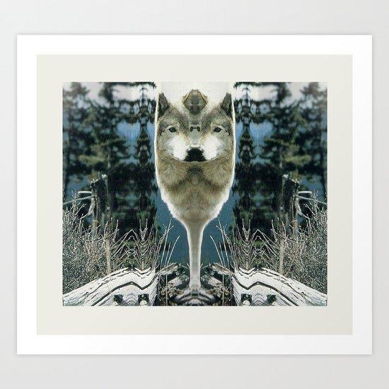 WOLFLOW Art Print