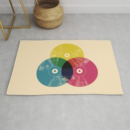 Music is the colors of life Rug