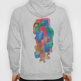 171013 Invaded Space 13|abstract shapes art design colour |shapes art abstract Hoody