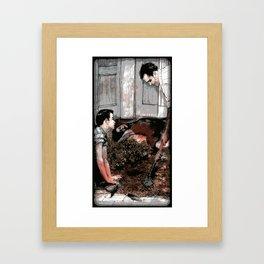 Lessons - Illustration Framed Art Print