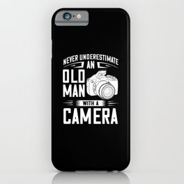 Photography Photographer Camera photo Gift iPhone Case