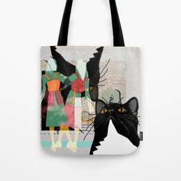 Kats At The Museo or Doppelganger Party Tote Bag