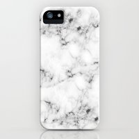 iPhone 5/5s Case featuring Real Marble by Grace