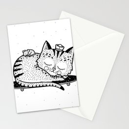 Scat or Die Stationery Cards